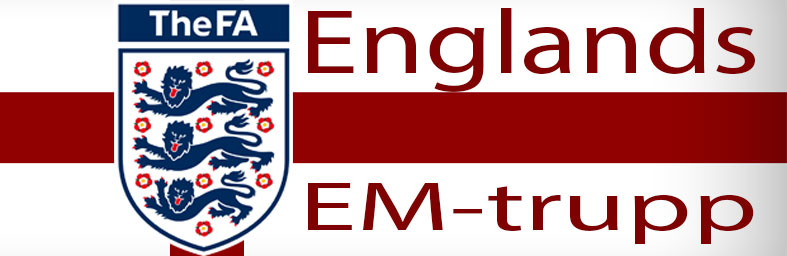 Englands EM-trupp