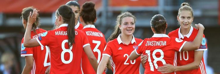 Rysslands damlandslag i fotboll
