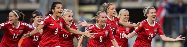Danmarks damlandslag i fotboll