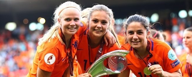Nederländernas damlandslag i fotboll