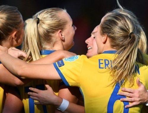 Jumboplacering för svenska F17-laget