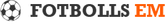 Fotbolls-EM 2020 i Europa Logotyp
