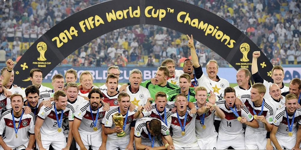 Tysklands landslag i fotboll under fotbolls VM 2014