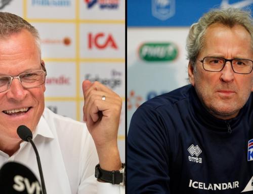 Andersson och Hamrén möts i dagens landskamp