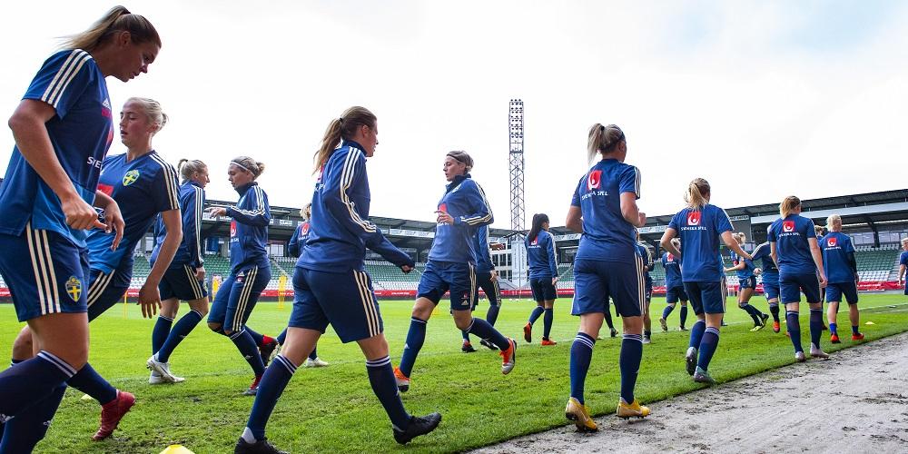 Sveriges damlandslag i fotboll