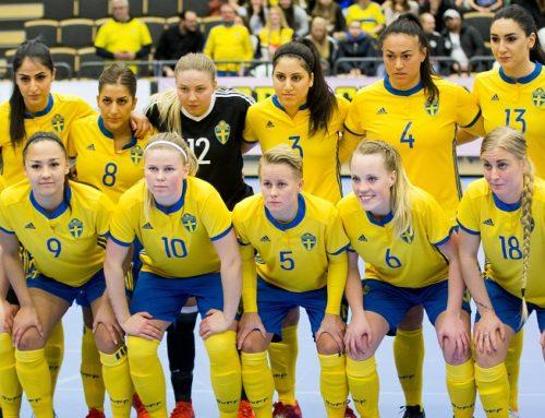 Futsaldamerna tar emot Italien