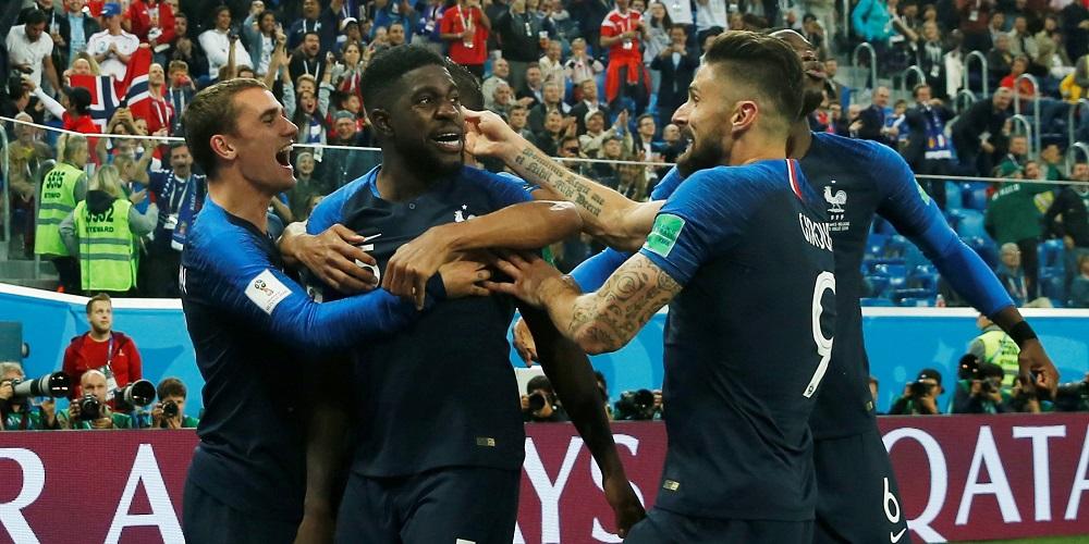 Frankrikes landslag i fotboll