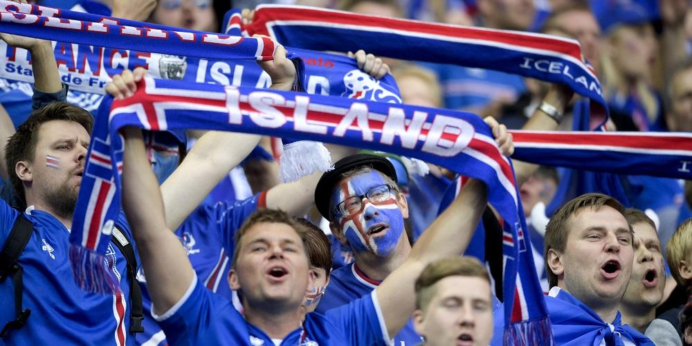 Isländska fotbollssupportrar