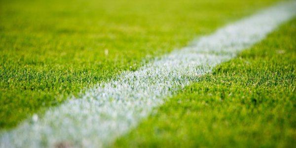 Linje på fotbollsplan