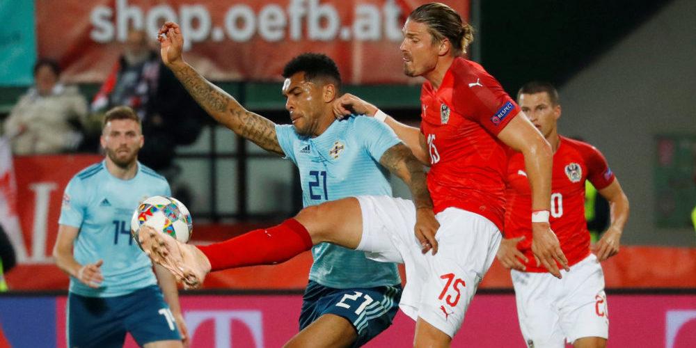 Nordirland och Österrikes landslag i fotboll