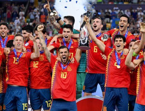 Spanien segrare i U21 EM 2019