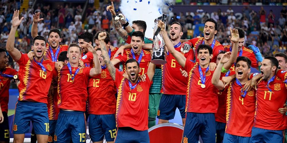 Spanien vinner U21 EM 2019