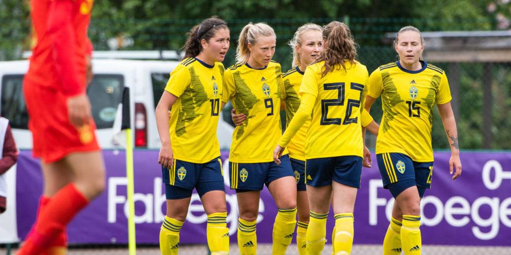 Loreta Kullashi, Rebecka Blomqvist och Selina Henriksson