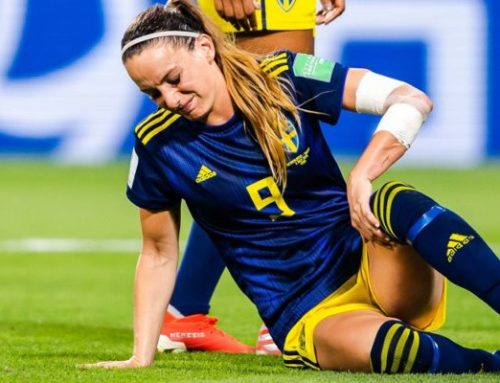 Landskampen Sverige-USA blev en jämn historia