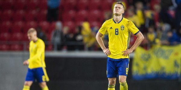U21 landslaget förlust