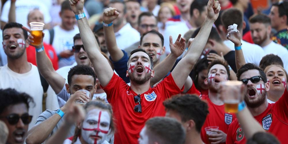 Engelska fotbollsfans