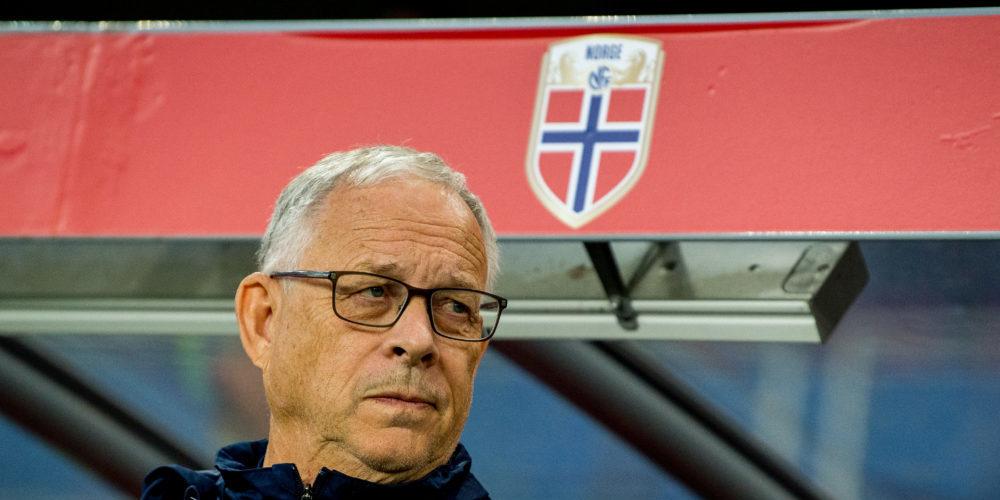 Norges tränare Lars Lagerbäck
