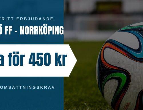 Riskfritt (14/9): Allsvenskan – Malmö FF vs Norrköping