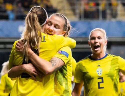 Här är damernas startelva i EM-kval mot Island