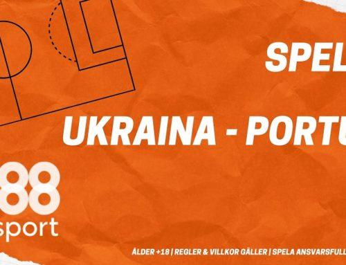 SPELTIPS EM-KVAL 14/10: Ukraina – Portugal