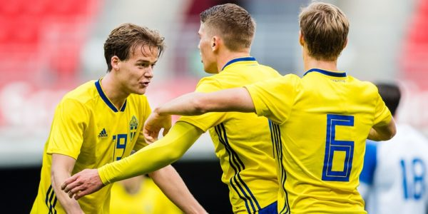 Svenska U21 landslaget i fotboll 2019