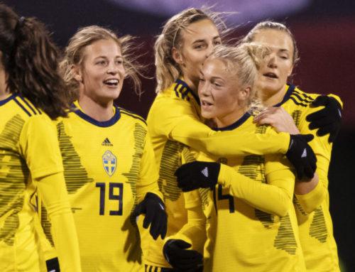 Anna Anvegård dubbel målskytt i förlusten mot USA