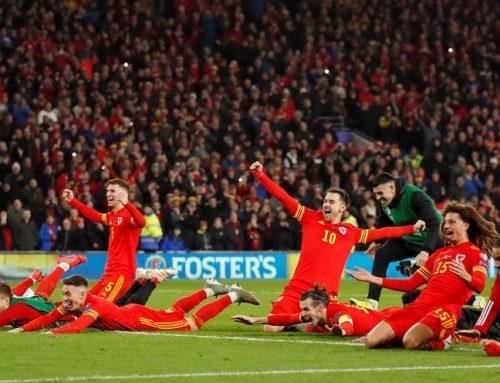 Wales sista lag att kvalificera sig till EM från gruppspelet