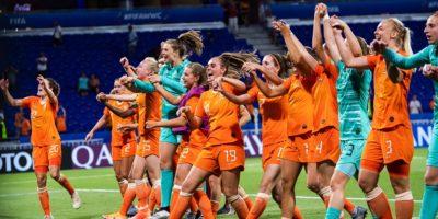 Nederländernas damlandslag under fotbolls VM 2019