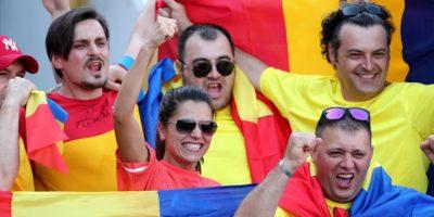 Rumänska fotbollsfans