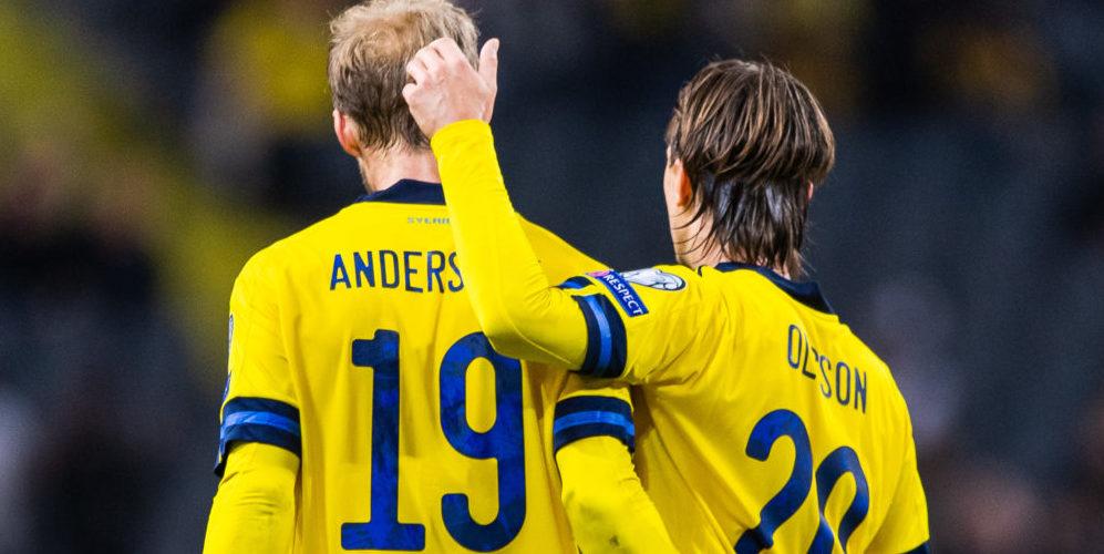 Sebastian Andersson och Kristoffer Olsson