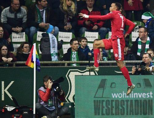 Robin Quaison bjöd på show mot Werder Bremen