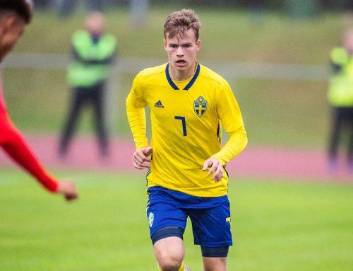 Sveriges startelva i P18 landskampen mot Cypern