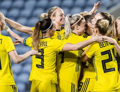 Här är damlandslagets startelva i EM-kvalet mot Island