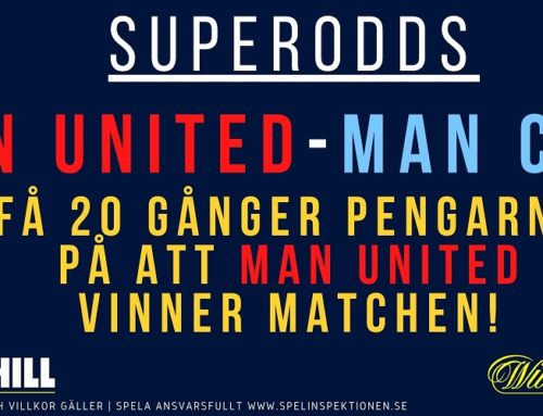 Kampanj: Superodds på Manchester United!