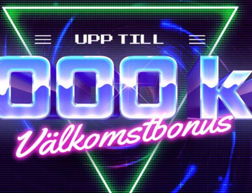 Välkomstbonus Hajper – 100% upp till 1000 kr