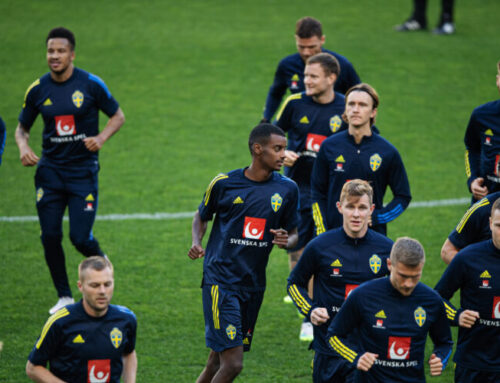 Sveriges startelva i matchen mot Portugal