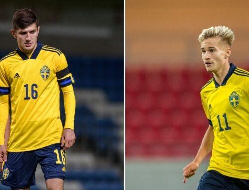 Två spelare från U21-landslaget lämnar allsvenskan för spel i ryska ligan