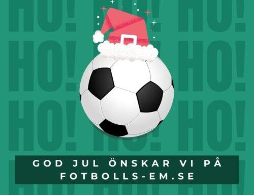 God Jul önskar vi på EM-fotboll.se