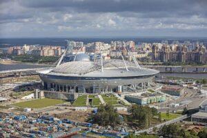 Krestovsky Stadium i Sankt Petersburg