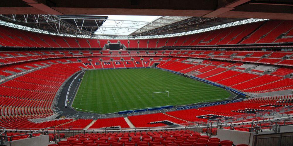 Wembley Stadium i London