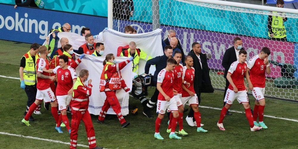 """Fina gesten till danska hjältarna – så belönas läkarna efter Christian Eriksens kollaps: """"Blev helt knäsvag"""""""