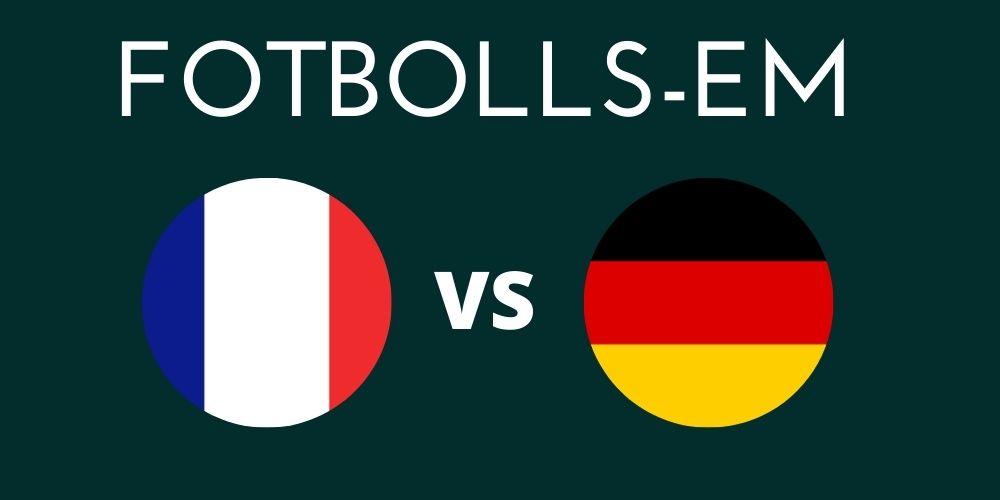 Frankrike - Tyskland
