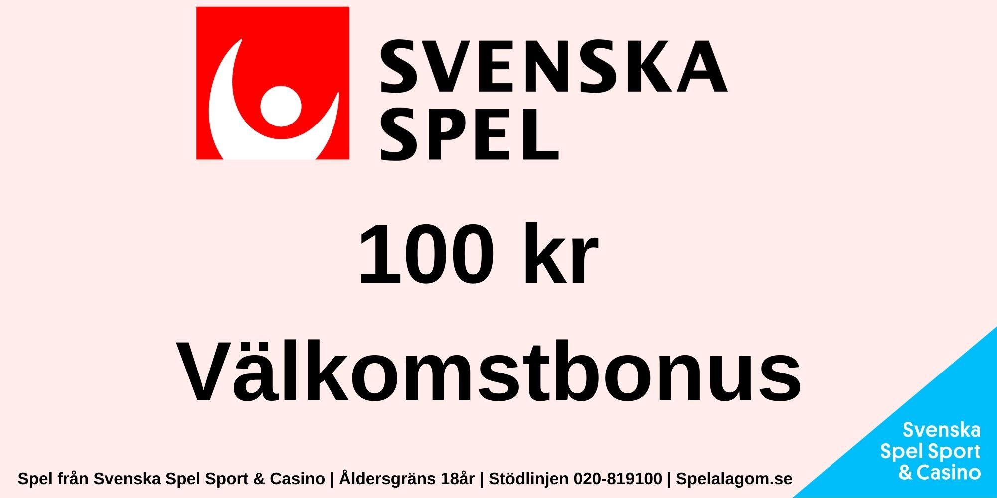 Svenska Spel bonus