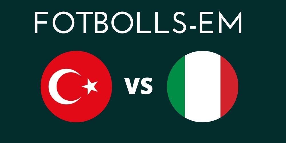 Turkiet - Italien