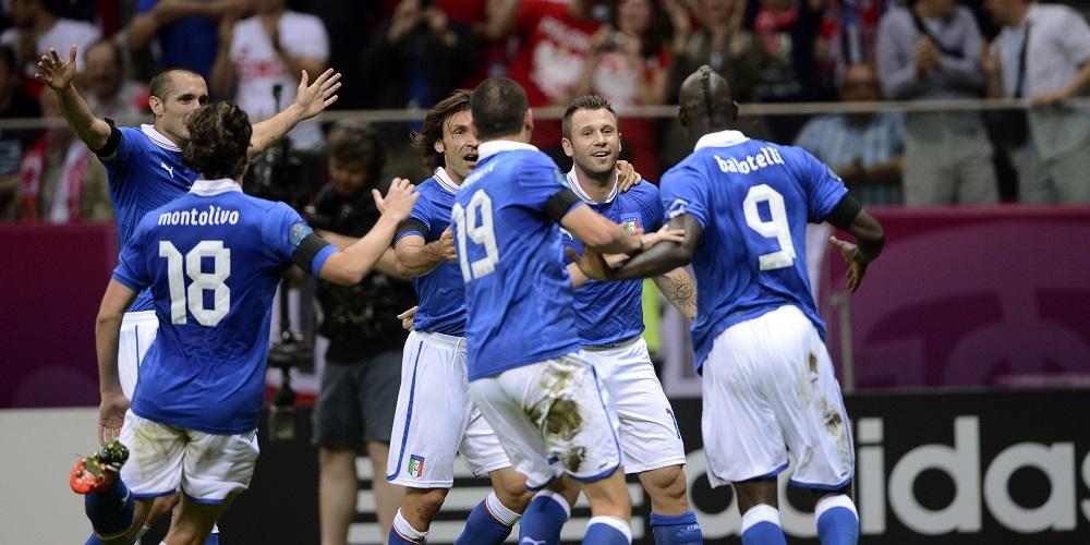 Italien i EM 2012
