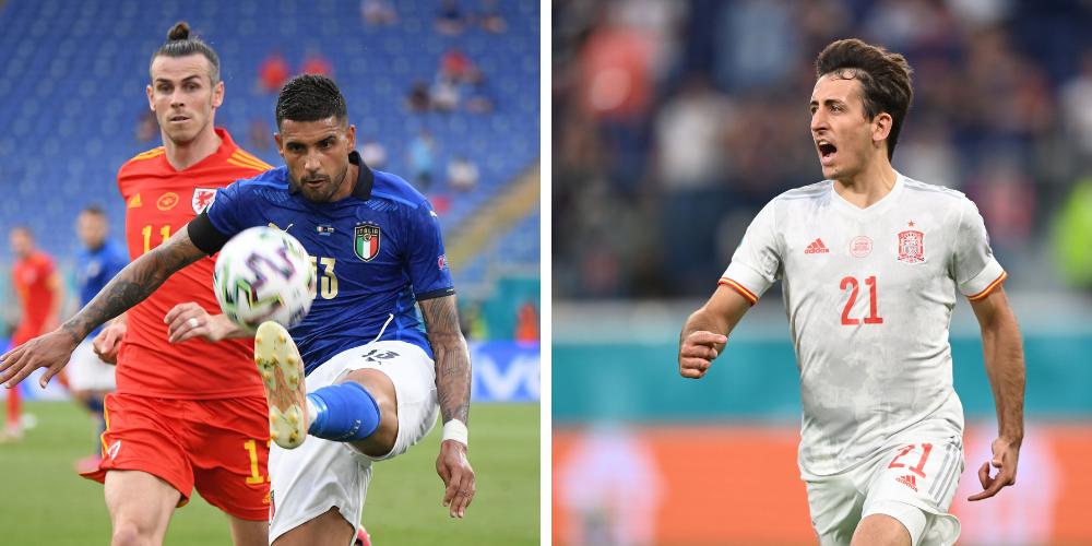 Så ställer Spanien och Italien upp i semin - EM-fotboll.se