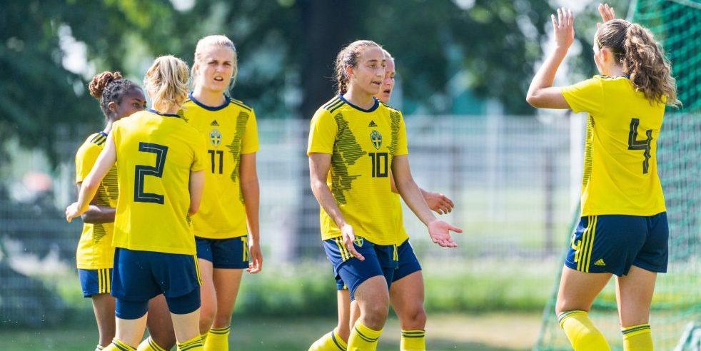 Rosa Kafaji, Athinna Persson Lundgren, F18-landslaget, F19