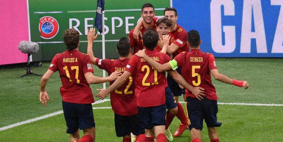 Spanien, Nations League